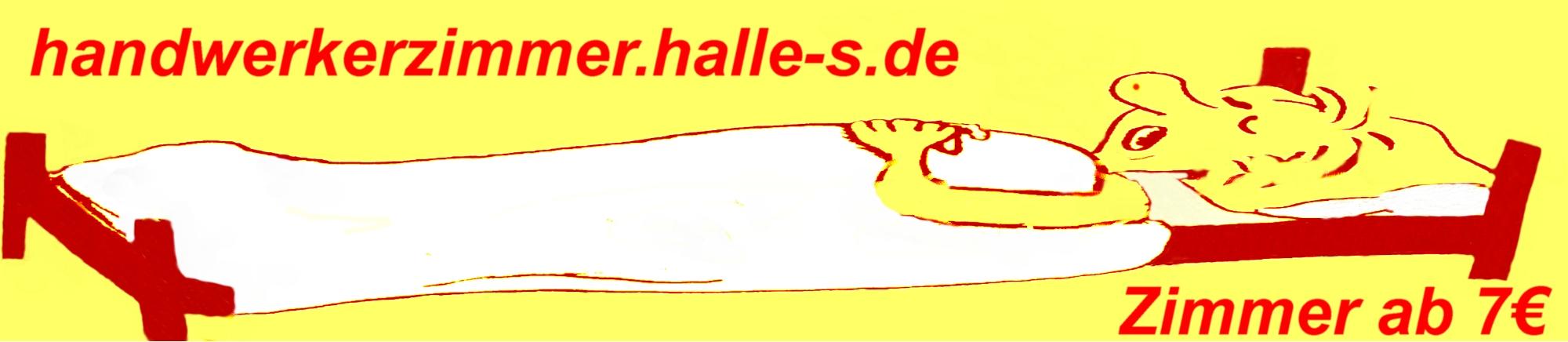 Handwerkerzimmer Halle Saale